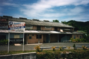 Theatre on Rarotonga in the mid 90s. Image taken by Dave Highbury.
