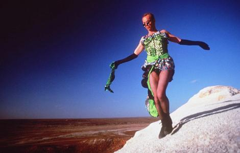 Did You Know That Hugo Weaving Looks Great In A Dress Made Of Beach