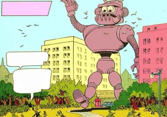 giant robot robbers