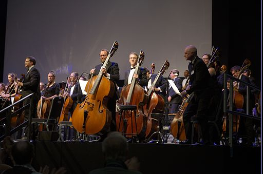 The Worldcon Philharmonic Orchestra. Photo: Johan Jönsson